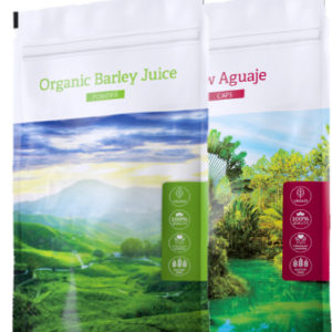 Barley juice POW + Aguaje Caps - Energy Příbram