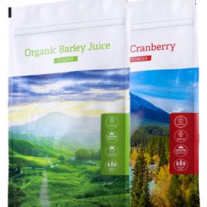 Barley juice POW + Cranberry pow. - Energy Příbram