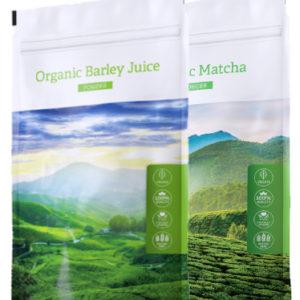 Barley juice POW + Matcha - Energy Příbram