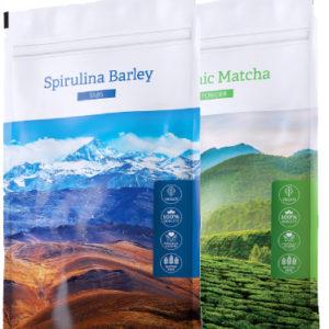Spirulina B. + Matcha - Energy Příbram