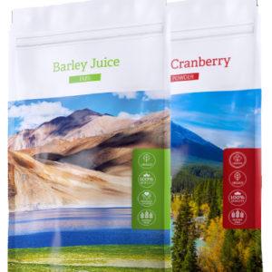 Barley TABS + Cranberry powder- Energy Příbram